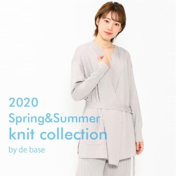 2020 Spring & Summer  KNIT collection by debase