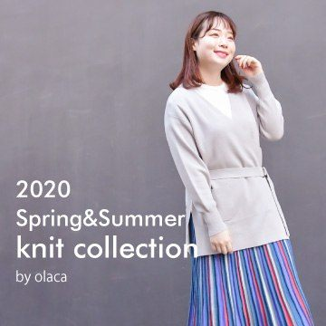 2020 Spring & Summer  KNIT collection by olaca