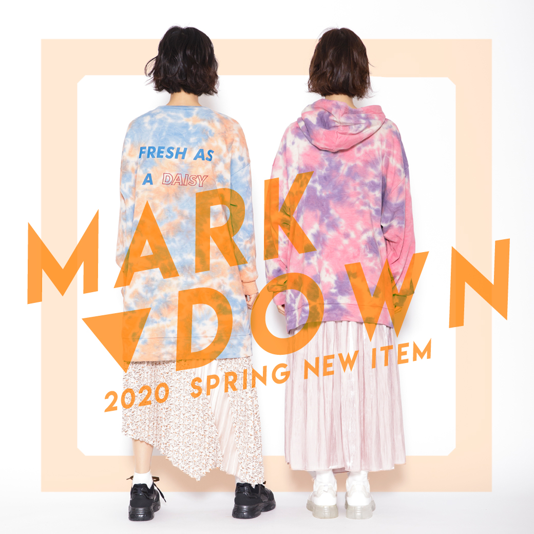 MARK DOWN 2020 SPRING ITEM