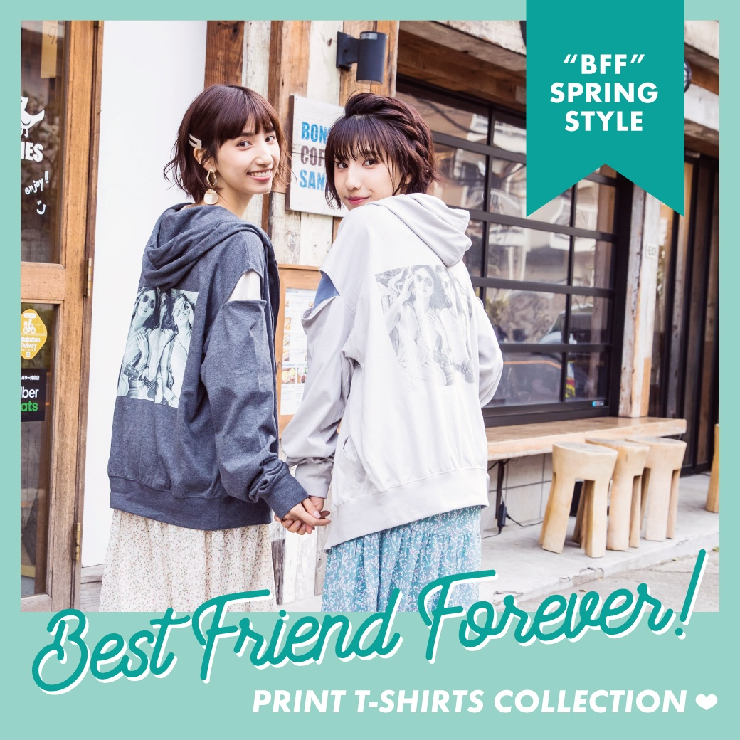 """BFF"" PRINT T-SHIRTS COLLECTION!"