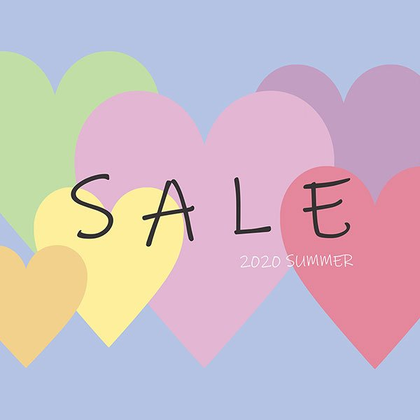 【2/7 UPDATE】WINTER SALE